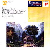 Ives: Symphony no 1, Three Places in New England etc / Ormandy et al