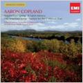 Aaron Copland: Fanfare for the Common Man, Appalachian Spring, El Salon Mexico, etc (1985-89)