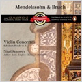 Mendelssohn: Violin Concerto; Bruch: Violin Concerto No.1 Op.26; Schubert: Rondo D.438 / Nigel Kennedy(vn), Jeffrey Tate(cond), ECO
