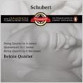 """Schubert: String Quartets No.8, No.12 """"Quartettsatz"""", No.13 """"Rosamunde""""/ Belcea String Quartet"""
