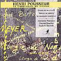 Pousseur: La Guirlande de Pierre / Pousseur et al