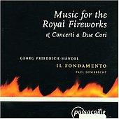 ヘンデル:2つの合奏体のための協奏曲 HWV333 & HWV.334、「王宮の花火の音楽」 HWV351