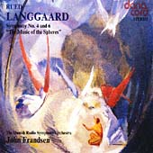 Langgaard: Symphonies 4 & 6 / Frandsen, Danish Radio SO