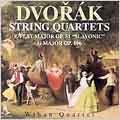 Dvorak: String Quartets Op 51 & Op 106 / Wihan Quartet