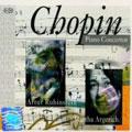 Chopin:Piano Concerto No.2/No.1:Martha Argerich(p)/Artur Rubinstein(p)/Grzegorz Nowak(cond)/Grzegorz Nowak/Witold Rowicki(cond)/Warsaw National Philharmonic Orchestra