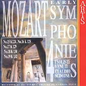 Mozart: Early Symphonies Vol 4 / Scimone, I Solisti Veneti