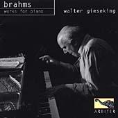 Gieseking plays Brahms