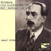 Samuil Feinberg - The First Recordings