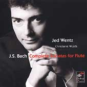 Bach: Complete Sonatas for Flute / Jed Wentz, C. Wuyts