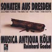Sonaten aus Dresden / Goebel, Musica Antiqua Koln