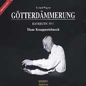 Wagner: Goetterdaemmerung / Knappertsbusch, Varnay, Aldenhoff