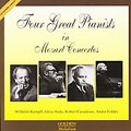 FOUR GREAT PIANISTS IN MOZART CONCERTOS:MOZART:PIANO CONCERTO NO.22 K.482/NO.17 K.453/NO.24 K.491/NO.25 K.503:WILHELM KEMPFF(p)/KARL BOHM(cond)/HESSEN RADIO SYMPHONY ORCHESTRA/ETC