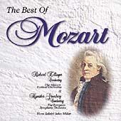 The Best of Mozart / Edlinger, Greenburg, Miller, et al