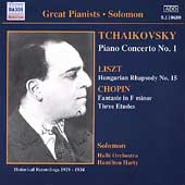 Tchaikovsky: Concerto for Piano and Orchestra No 1; Chopin/Liszt: Piano Wor