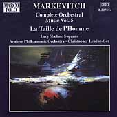 Markevitch Complete Orchestral Works Vol 5 / Lyndon-Gee
