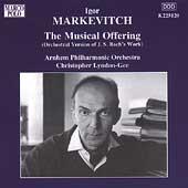 Igor Markevitch - The Musical Offering / Lyndon-Gee, Arnhem