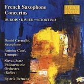 French Saxophone Concertos - Dubois, Rivier etc / Gremelle et al