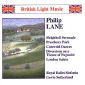 British Light Music -Lane /Sutherland, Royal Ballet Sinfonia