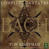 Bach: Complete Cantatas Vol 6 / Koopman, Amsterdam Baroque