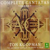 Bach: Complete Cantatas Vol 7 / Koopman, Amsterdam Baroque