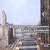 Strauss: Wind Concertos, etc / Barenboim, Chicago SO, et al