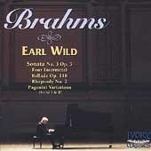 The Romantic Master - Brahms: Piano Sonata no 3, etc / Wild