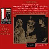 Festspieldokumente - Cavalieri: Rappresentazione / Salzburg