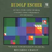 Escher: Concerto for String Orchestra, etc / Chailly, et al