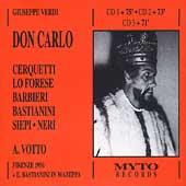 Verdi: Don Carlo / Votto, Cerquetti, Lo Forese, et al