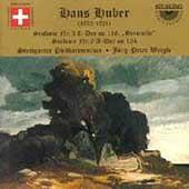 Huber: Symphonies no 3 and 6 / Baier, Weigle, Stuttgart PO