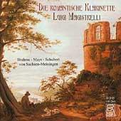Die Romantische Klarinette - Brahms, et al / Magistrelli