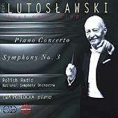 Lutoslawski: Piano Concerto, Symphony no 3/ Lutoslawski, etc
