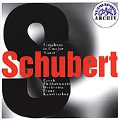 """Schubert: Symphony no 9 in C Major """"The Great"""" / Konwitschny"""