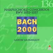 Bach 2000 Vol 136 - Harpsichord Concertos / Leonhardt