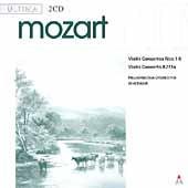Ultima - Mozart: Violin Concertos / Zehetmair, Philharmonia