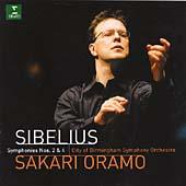 Sibelius: Symphonies nos 2 & 4 / Sakari Oramo, City of Birmingham SO