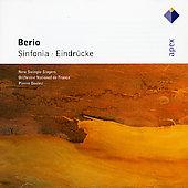 SINFONIA/EINDRUECKE:BERIO