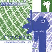 Geissler: Instrumentalwerke 1954-1970 / Arens, Kegel, et al
