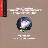 Saint-Saens: Carnival of the Animals, etc / Ma, Biggs, et al