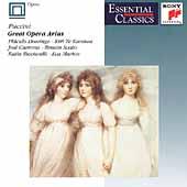 Puccini: Great Opera Arias / Domingo, Te Kanawa, et al