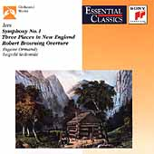 Ives: Symphony no 1, etc / Ormandy, Stokowski, et al
