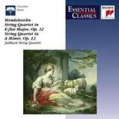 Mendelssohn: String Quartets no 1 & 2 / Juilliard Quartet