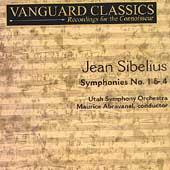 Sibelius: Symphonies no 1-4 / Abravanel, Utah Symphony