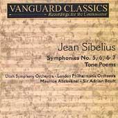 Masterpieces - Sibelius: Symphonies / Abravanel, Boult
