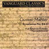 Mahler: Symphony no 5 & 6 / Maurice Abravanel, Utah Symphony