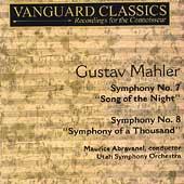 Mahler: Symphony no 7 & 8 / Maurice Abravanel, Utah Symphony