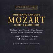 Mozart: Concerto Masterpieces / Suk, Pinder, Swarowsky