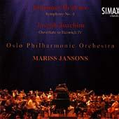 ブラームス: 交響曲第4番、ヨアヒム: 序曲「ヘンリー4世」 Op.7