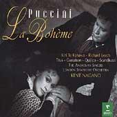 Puccini: La Boheme / Nagano, Te Kanawa, Leech, et al