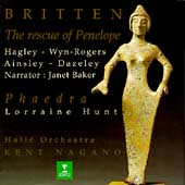 Britten: The Rescue of Penelope, Phaedra / Nagano, et al